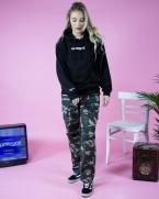 bankside black hoodie womens